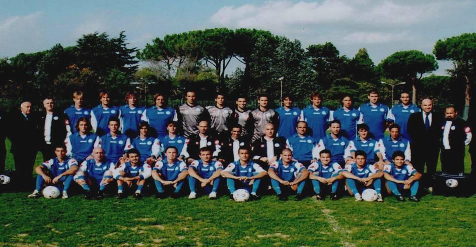 LA SQUADRA JUNIORES DELL'ASTREA STAGIONE 2003-2004