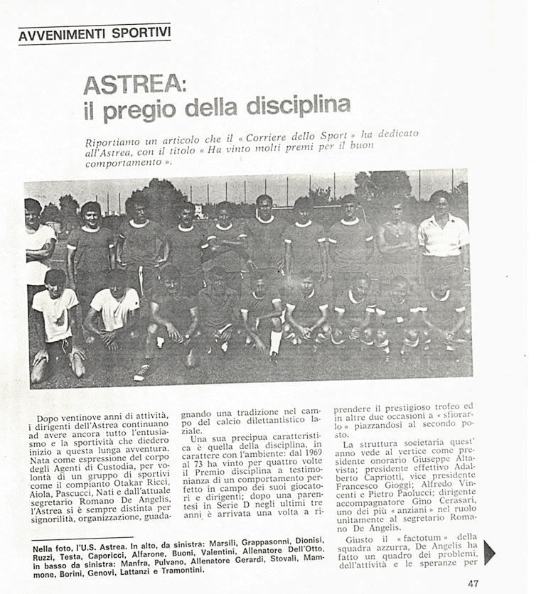 ASTREA CALCIO
