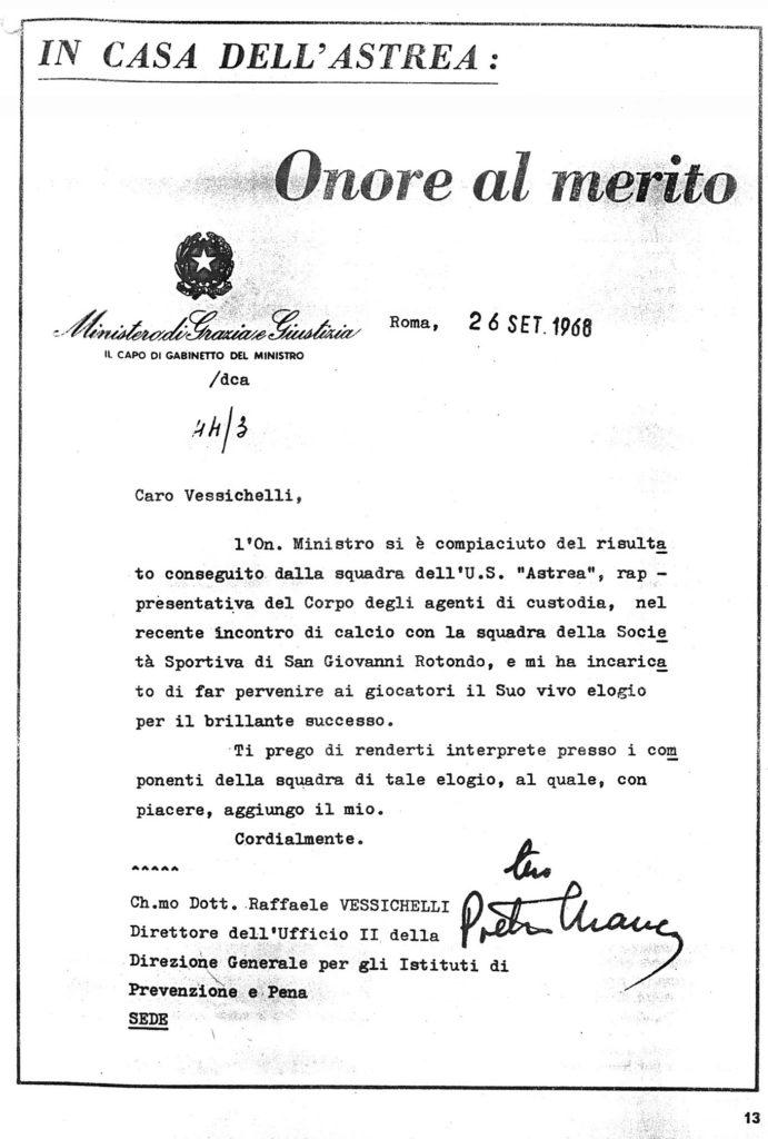 ECOMIO MINISTRO DELLA GIUSTIZIA